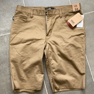 Vans shorts size 32 brand new